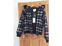 Bnwt Yumi hooded jacket size 12