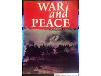 WAR AND PEACE ORIGINAL FILM SOUVENIR BOOK 1968