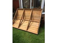 APEX SHED ROOF 6 x 4