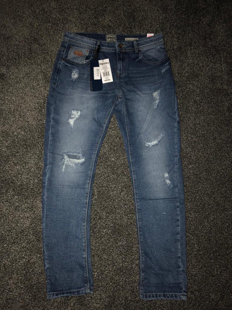 Brand new genuine ladies Superdry boyfriend jeans