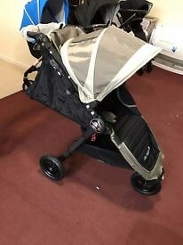 Baby Jogger GT Pushchair Stroller Travel Buggy EX DISPLAY 2016 IMMEDIATE COLLECTION BIRTH