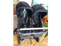 Mountain Buggy duet 2x Carrycot Plus