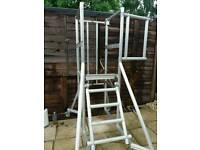 Yougmans scaffolding platform