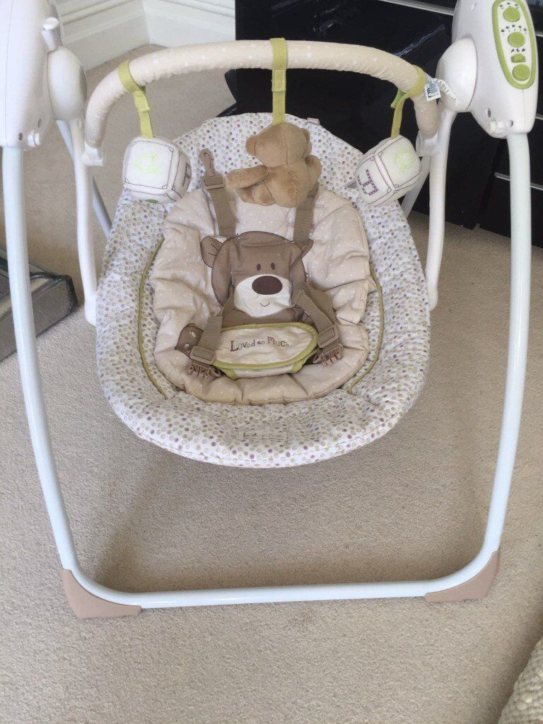 Tommee Tippee Prep Machine and Baby's First Soother Swing.