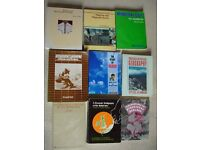9 Student textbooks - Geology & Physical geography