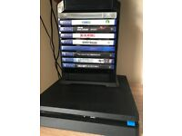 PS4 Slim 500gb 2 Dualshocks, games and accesoried