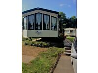 For sale in Kiln Park Tenby 3 bedroom Willerby Aspen static caravan.