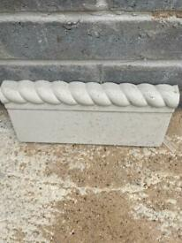 New concrete edgings