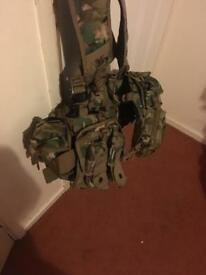Army webbing with other things