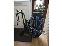 Golf Clubs plus Bag and Trolley