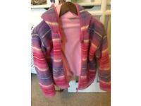 Hooded jacket/zippy