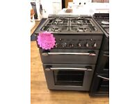 LEISURE 55CM ALL GAS COOKER IN SILIVER