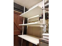 Ikea Stolmen Wardrobe/Storage Unit with 4 Shelves