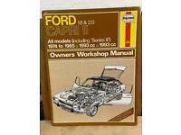 Haynes Ford Capri Workshop Manual