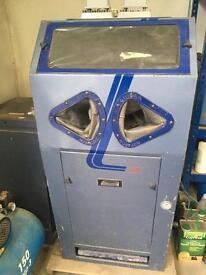 Guyson euro 2 shot blasting cabinet suit restoration