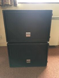 **Alto Truesonic ts sub 12 Subwoofers 600W Active X 2**
