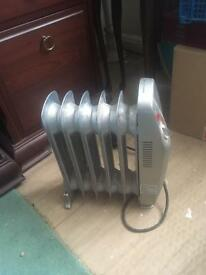 Heavy duty electric radiator/heater