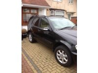 Mercedes ML 270 for quick sale