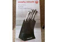 Morphy richards 5 piece set