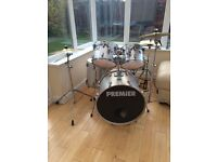 Premier 5 piece drum kit - good condition