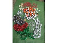 Bag of Assorted Christmas Tree Decorations for £5.00 - BAG ONE