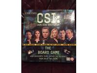 CSI (CRIME SCENE INVESTIGATION) BOARD GAME