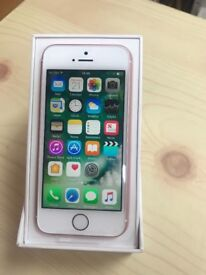 iPhone SE 32gb Unlocked Rose Gold Brand New