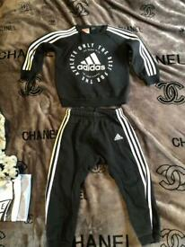 Adidas tracksuit 18-24 months