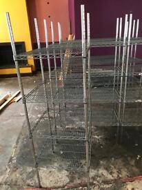 Comercial catering rack restaurant take away food