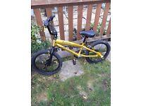 Predator Silverfox BMX Boys Child Kids Bike