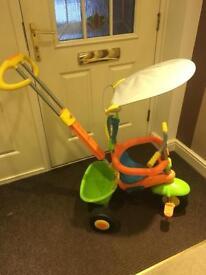 Push along trike toddler bike