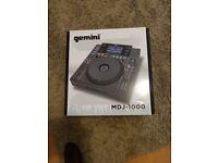 Pair of Gemini MDJ-1000 MDJ1000 Professional Media DJ CD Player USB MP3 Deck CDJ