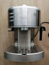 DeLonghi espresso and cappucino coffee maker