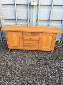 Solid oak sideboard *free delivery*
