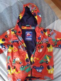 Next 2 -3 fleeced raincoat