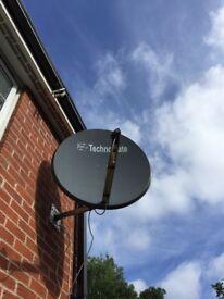 Satellite dish technocate 1.0