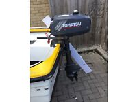 Tohatsu 3.5hp 2 Stroke - Excellent Condition