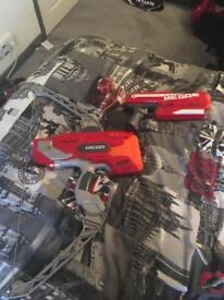 2 Nerf mega guns (NEED TO GO)