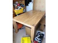 Oak table for sale