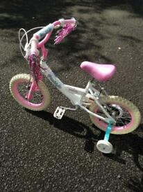 Girls bike bicycle