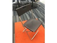 Office Chairs/ Foldable / Black/ Brand New/ Meetings/ Conferences/ Seminars