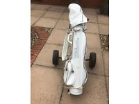 Ladies right handed golf clubs,bag and trolley