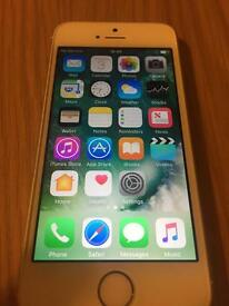 iPhone 5s 16g Gold Excellent Condition!