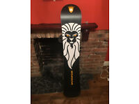 Burton limited edition Snowboard and accessories