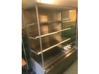 COLD DISPLAY UNIT - FOOD AND DRINKS CABINET
