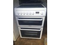 £131.00 Hotpoint ceramic electric cooker+60cm+3 months warranty for £131.00