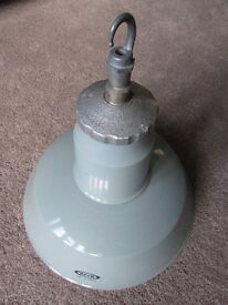 Vintage industrial metal lamp shade