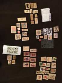 Craft Stamp Bundle in excellent condition - over 60 stamps!