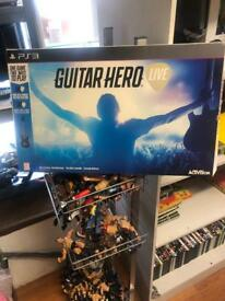 Guitar hero live hero live PS3