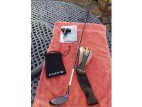 Cobra King Ltd 4 / 5 Wood with Aldila Rogue stiff flex shaft adjustable loft